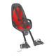 Hamax Caress Observer fietsstoeltje grijs/rood